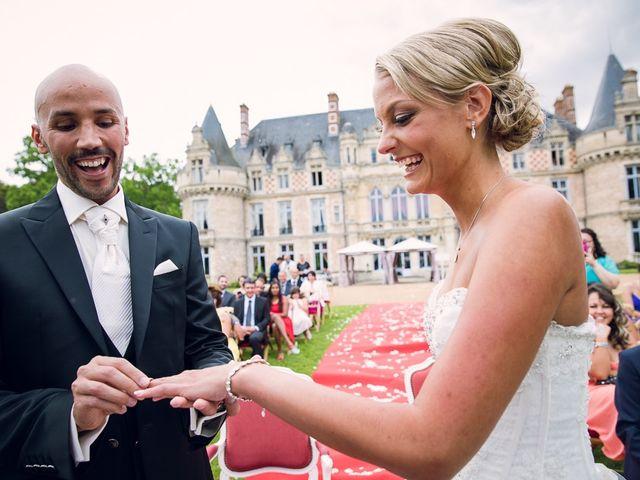 Le mariage de Houcine et Fabienne à Paris, Paris 22