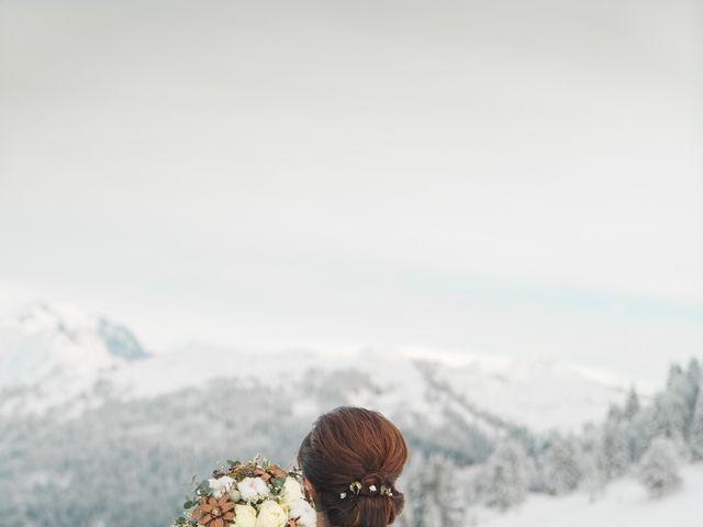 Le mariage de Gaetan et Géraldine à La Clusaz, Haute-Savoie 17
