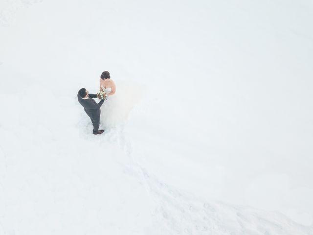 Le mariage de Gaetan et Géraldine à La Clusaz, Haute-Savoie 19