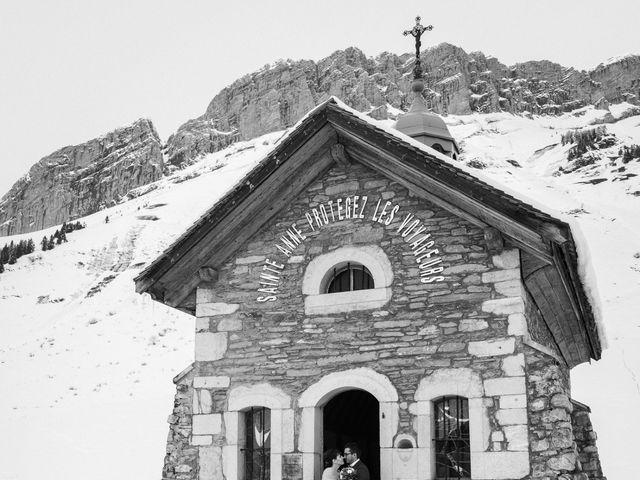 Le mariage de Gaetan et Géraldine à La Clusaz, Haute-Savoie 21