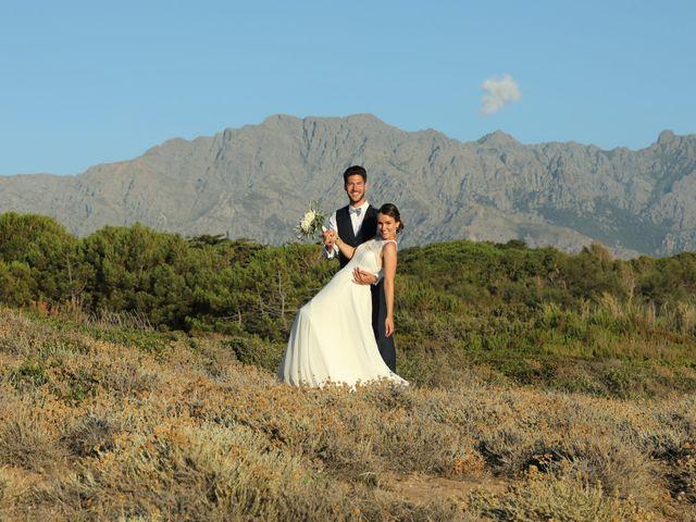 Le mariage de Michael et Marie à Corbara, Corse 6