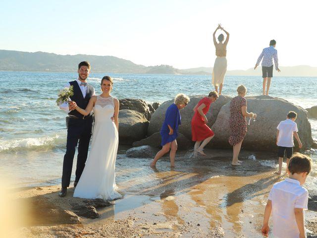 Le mariage de Michael et Marie à Corbara, Corse 16