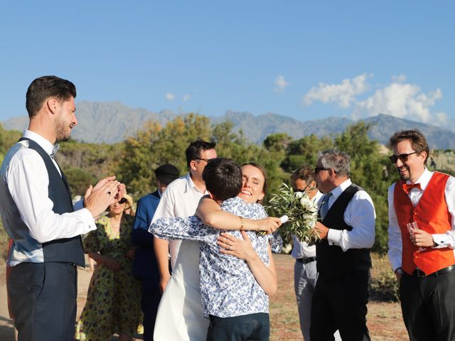 Le mariage de Michael et Marie à Corbara, Corse 18