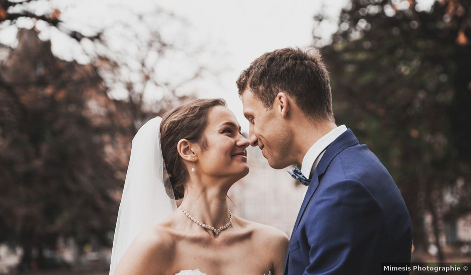 Le mariage de Matthieu et Solène à Le Mesnil-Esnard, Seine-Maritime