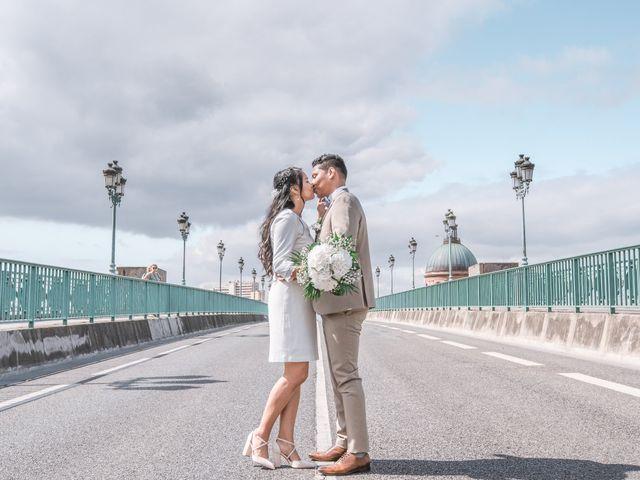 Le mariage de Xavier et Asara à Toulouse, Haute-Garonne 3