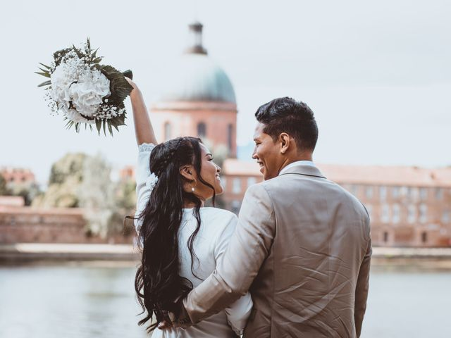 Le mariage de Xavier et Asara à Toulouse, Haute-Garonne 18