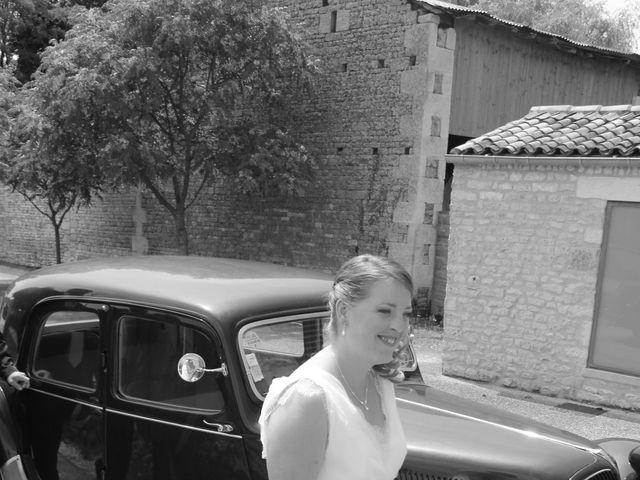 Le mariage de Vincent et Virginie à Aigonnay, Deux-Sèvres 10