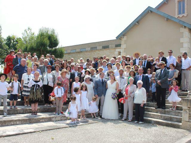 Le mariage de Vincent et Virginie à Aigonnay, Deux-Sèvres 14