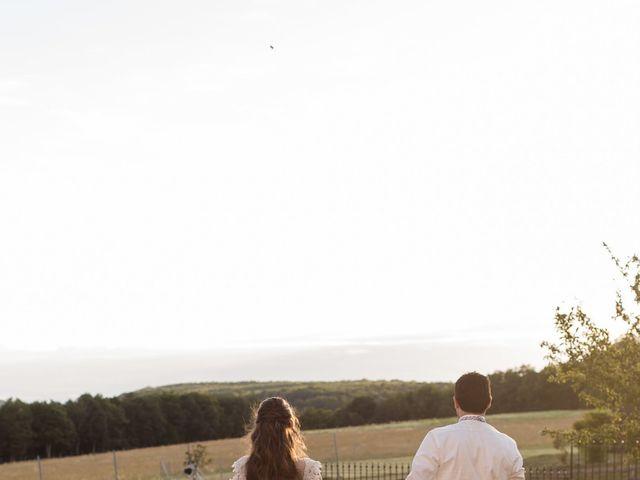 Le mariage de Carole et Caleb à Courtivron, Côte d'Or 5
