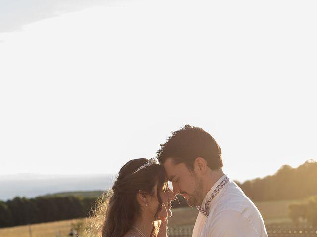 Le mariage de Carole et Caleb à Courtivron, Côte d'Or 6