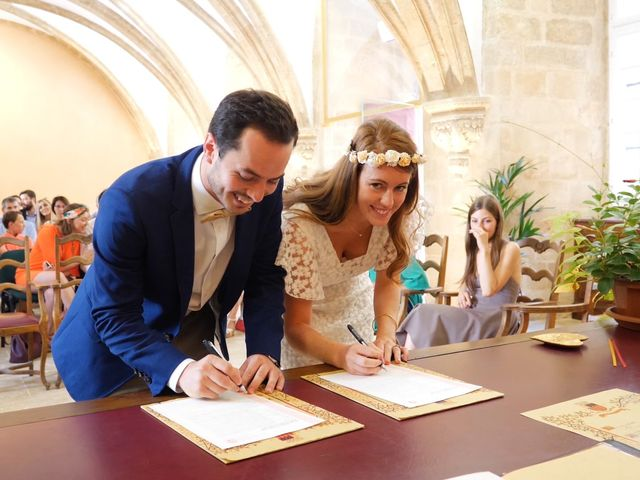 Le mariage de Xavier et Caroline à Saint-Martin-de-Castillon, Vaucluse 5