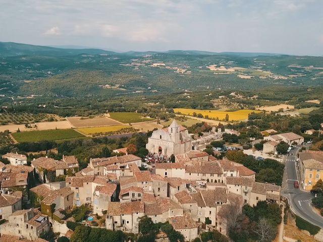 Le mariage de Xavier et Caroline à Saint-Martin-de-Castillon, Vaucluse 18