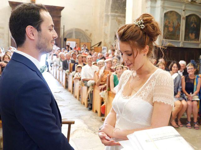 Le mariage de Xavier et Caroline à Saint-Martin-de-Castillon, Vaucluse 22
