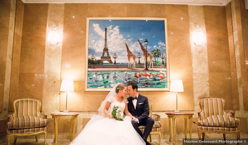 Le mariage de David et Julie à Paris, Paris