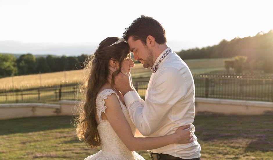 Le mariage de Carole et Caleb à Courtivron, Côte d'Or