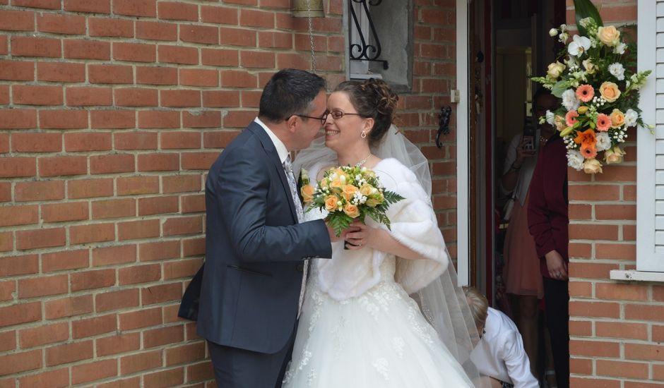 Le mariage de David et Virginie à Guesnain, Nord