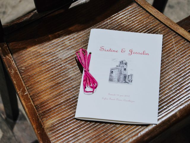 Le mariage de Josselin et Sixtine à Piolenc, Vaucluse 22