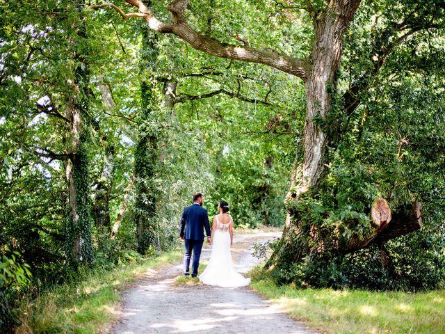 Le mariage de Florian et Linda à Illifaut, Côtes d'Armor 10