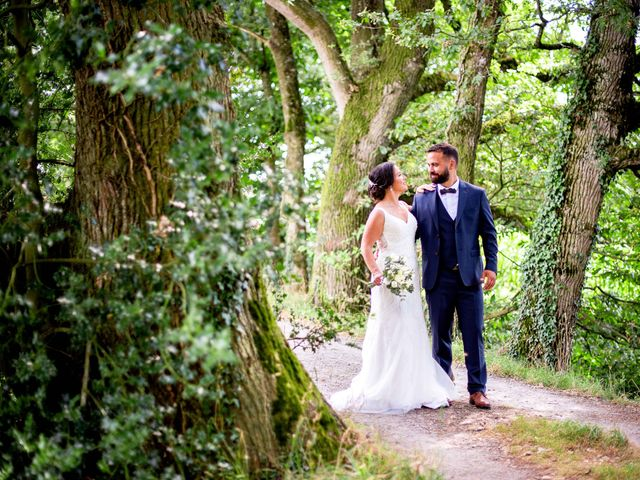 Le mariage de Florian et Linda à Illifaut, Côtes d'Armor 15