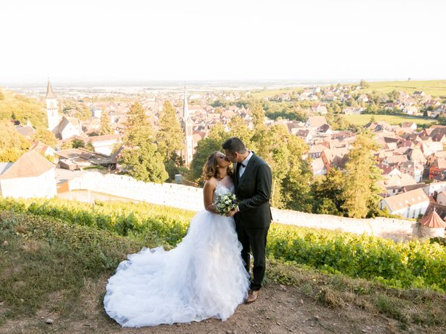 Le mariage de Julien et Véronique à Sélestat, Bas Rhin 8