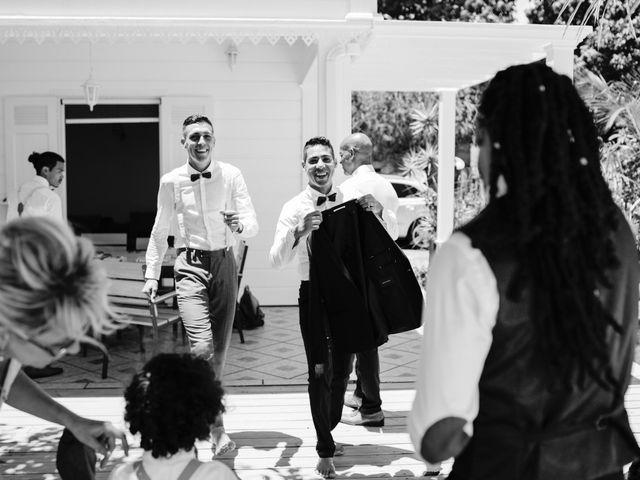 Le mariage de Davy et Julie à Saint-Gilles les Bains, La Réunion 6
