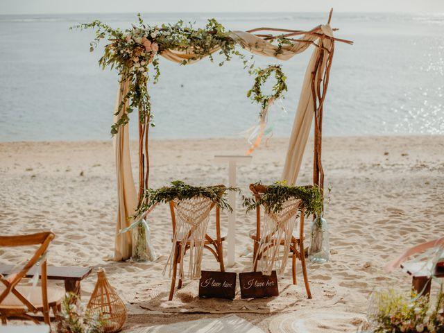 Le mariage de Davy et Julie à Saint-Gilles les Bains, La Réunion 61