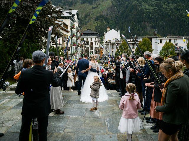 Le mariage de Lionel et Aurore à Chamonix-Mont-Blanc, Haute-Savoie 16