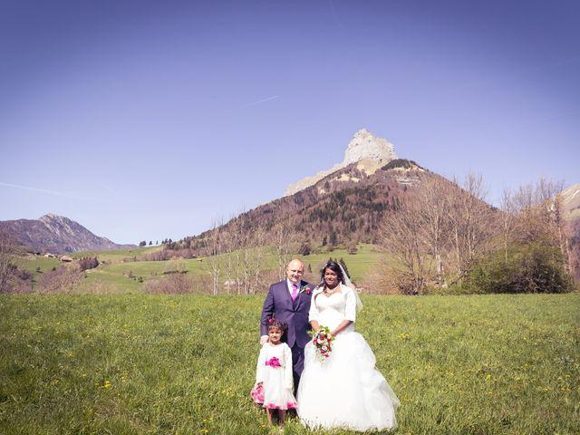Le mariage de Kevin et Cécile à Chamousset, Savoie 1