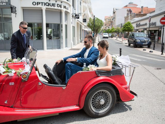 Le mariage de Yann et Floriane à Arcachon, Gironde 9