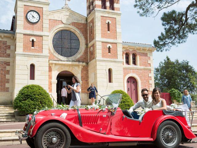 Le mariage de Yann et Floriane à Arcachon, Gironde 15