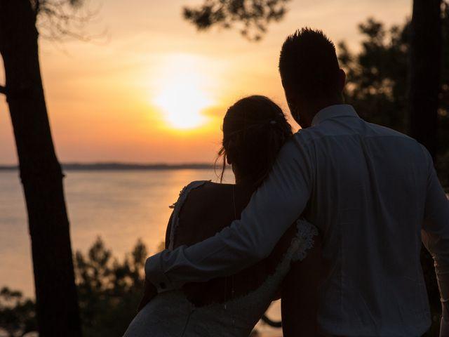 Le mariage de Yann et Floriane à Arcachon, Gironde 34