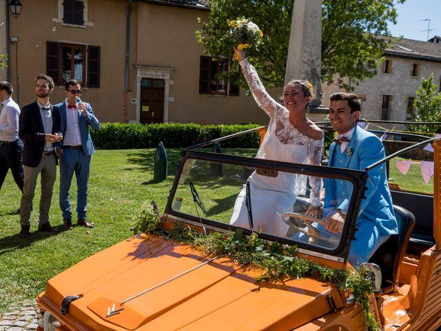 Le mariage de Florian et Marie à Lacenas, Rhône 17