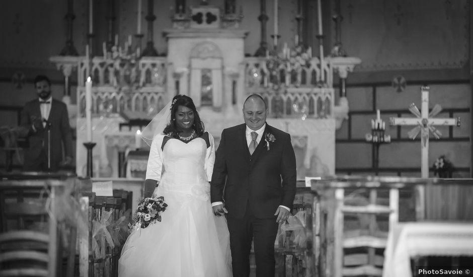 Le mariage de Kevin et Cécile à Chamousset, Savoie