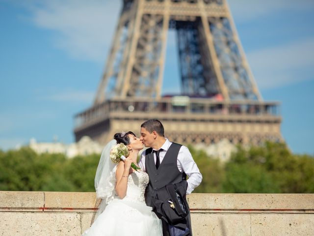 Le mariage de Masoumeh et Ludovic