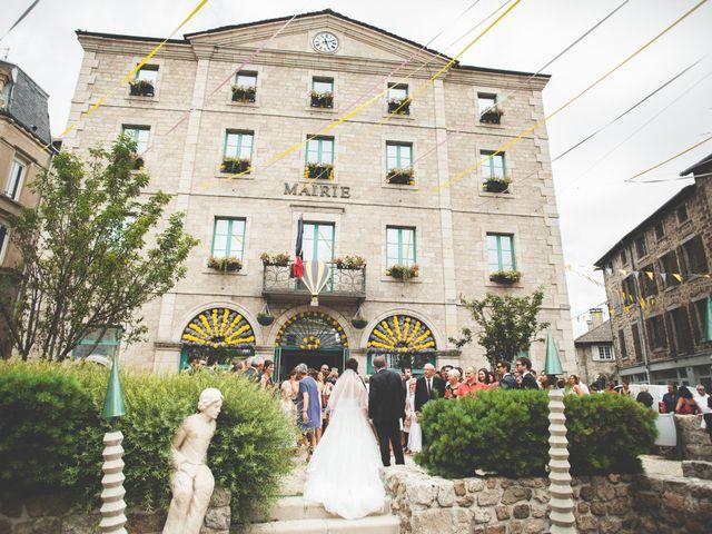 Le mariage de Lucas et Camille à Tence, Haute-Loire 18