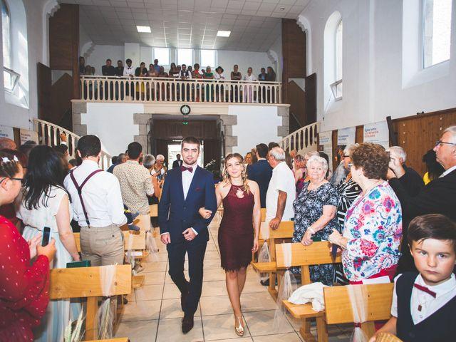 Le mariage de Lucas et Camille à Tence, Haute-Loire 23
