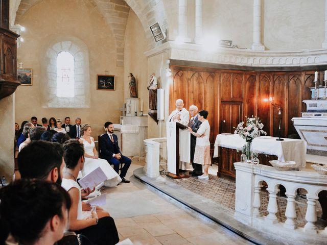 Le mariage de Benoît et Aurélie à Connaux, Gard 32