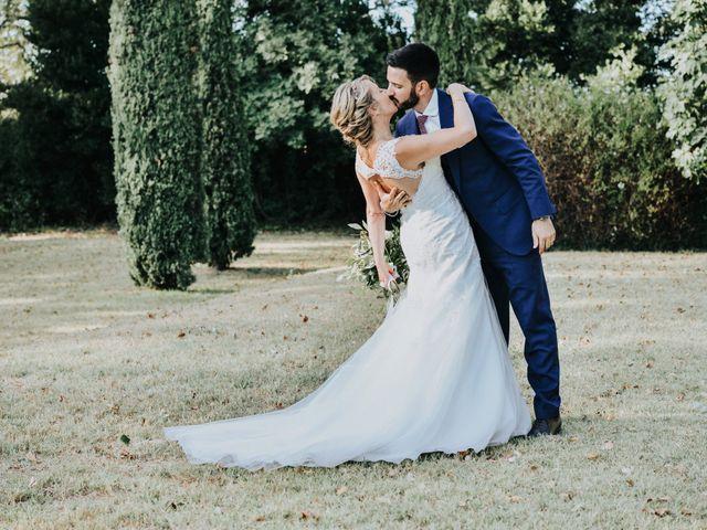 Le mariage de Benoît et Aurélie à Connaux, Gard 45
