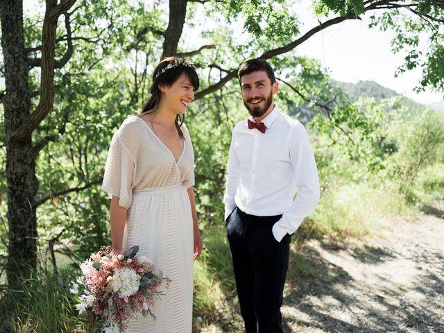 Le mariage de Loïc et Cécile à Montbrun-les-Bains, Drôme 14