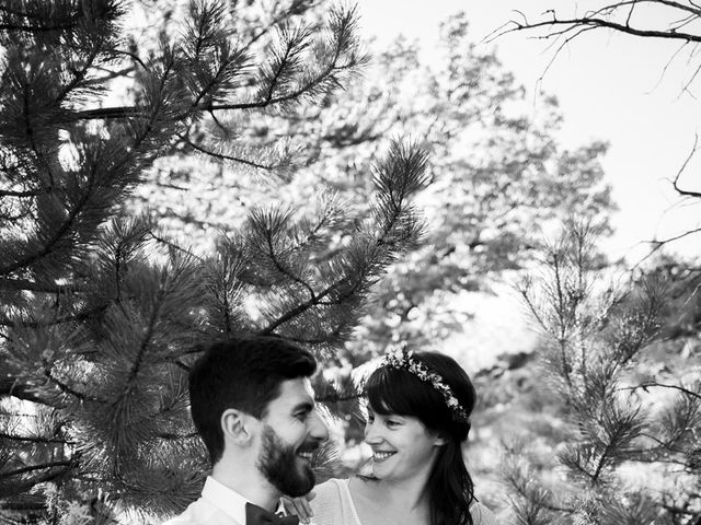 Le mariage de Loïc et Cécile à Montbrun-les-Bains, Drôme 16