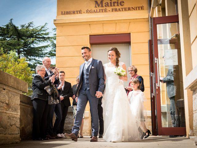 Le mariage de Vincent et Claire à Lacenas, Rhône 14