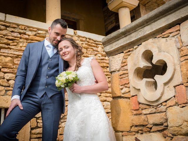 Le mariage de Vincent et Claire à Lacenas, Rhône 7
