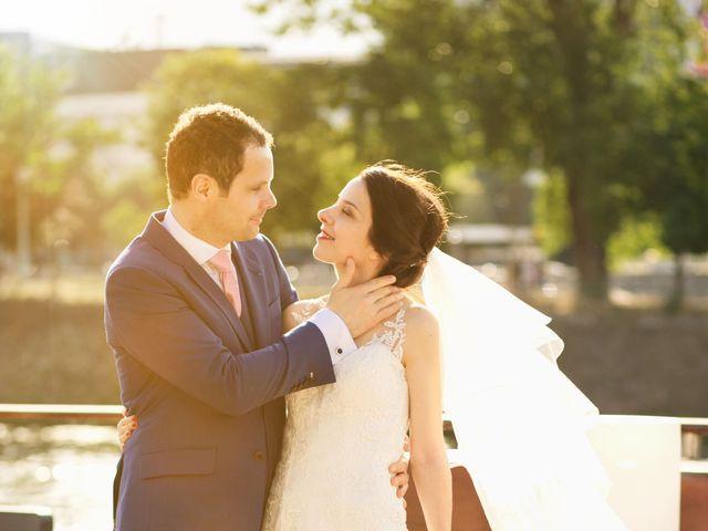 Le mariage de Michael et Ana à Paris, Paris 19