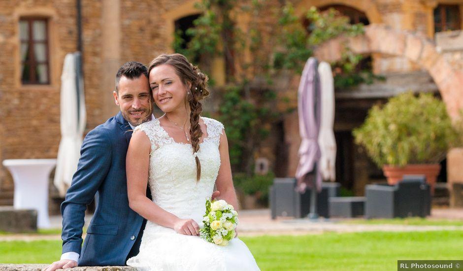 Le mariage de Vincent et Claire à Lacenas, Rhône