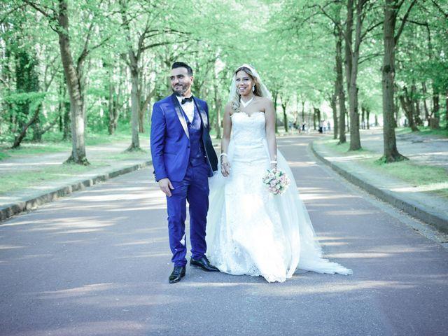 Le mariage de Ibrahim et Siham à Paris, Paris 16