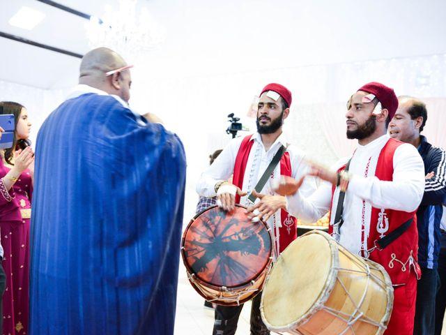 Le mariage de Ibrahim et Siham à Paris, Paris 8