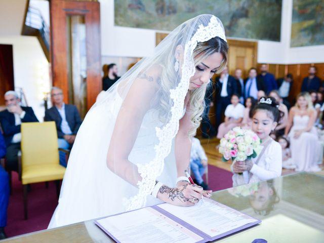 Le mariage de Ibrahim et Siham à Paris, Paris 13