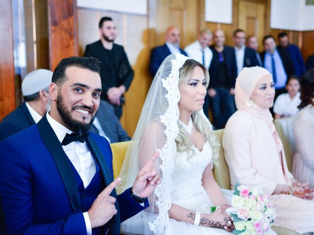 Le mariage de Ibrahim et Siham à Paris, Paris 6