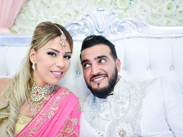Le mariage de Ibrahim et Siham à Paris, Paris 28