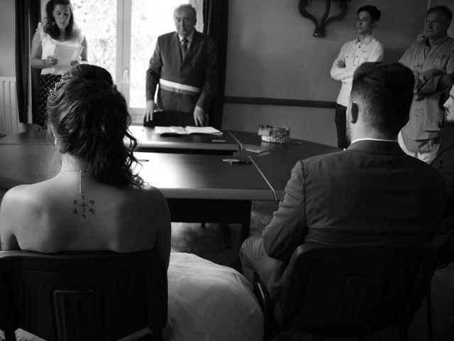 Le mariage de Benjamin et Pauline  à Saint-Ybard, Corrèze 1
